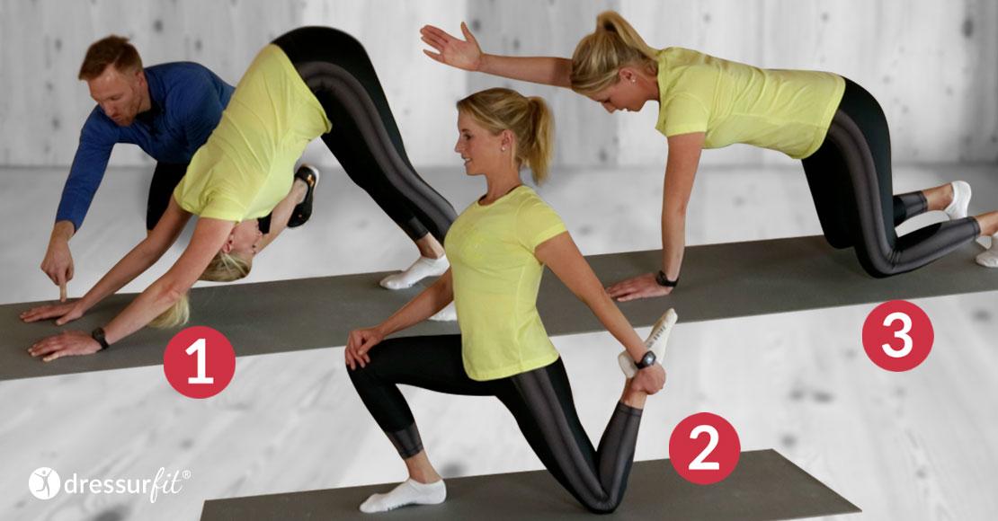 DressurFit Blog - 3 Übungen Für Dressurreiter
