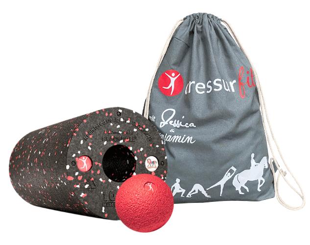 DressurFit Blackroll Mit Ball Und Turnbeutel