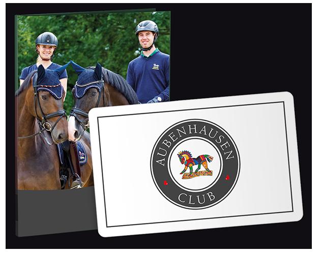 Geschenkkarte Aubenhausen Club mit Umschlag