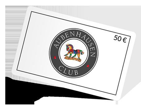 Aubenhausen Club Geschenkkarte 50€